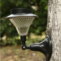Wholesale European Led Outdoor Wall Lamp - 24led solar lights solar wall lamp the European garden Flood Lights lights Lawn lamp Landscape lights outdoor waterproof Road street lights