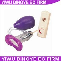 Wholesale G Spot Pumps Toys - w1028 Pussy Pump Clit Vaginal Vacuum Pump Clitoral G Spot Vibrator Sex Licking Toys For Women Sex Product Oral Sex Toys