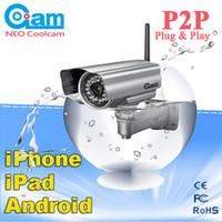 Wholesale Neo Coolcam - Wholesale-NEO COOLCAM Outdoor Wireless WiFi Night Vision IP Network Security CCTV IR Camera 6mmCCTV IR Camera free shipping