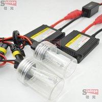 Wholesale Xenon Kit 35w H3 - 30sets lot 12v DC 35w hid xenon kits single beam super SLIM hid xenon kit 35W DC H1 H3 H7 H8 H9 H11 9005 9006 880 881