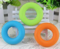 New Arrive 3 pcs / set Sport Muscle Power Training Rubber Ring Strength Hand Grip Exerciser Fit