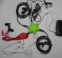 Wholesale Earphone Audio Splitter Cable - High Quality 1 to 5 3.5Mm Audio Cable Earphone Splitter Adapter, 6Way Headphone Multi Splitter audio adapter earphone 3.5HUB