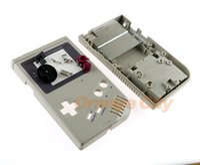 caja de reemplazo de carcasa caso al por mayor-Nuevo estuche de cubierta de carcasa completamente nuevo con botones para Game Boy Classic GB Consola DMG System replacement parts