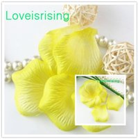 Petals pack track - Tracking number packs Yellow Non Woven Fabric Artificial Rose Flower Petal For Wedding Party Favor Decor