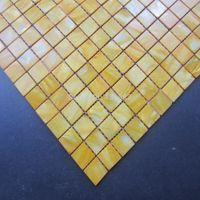 ingrosso piastrelle di mosaico giallo-Piastrelle a mosaico di conchiglie HYRX tessere di mosaico in madreperla, tintura di colore giallo, piastrelle backsplash cucina, mosaique nacre