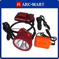 Wholesale Mining 5w - 5W 25000 LUX LED Miner Headlight Mining Head lamp Chargeable 10pcs lot #HK095