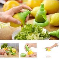 ingrosso spruzzo di succo-Gadget creativi Lemon Sprayer Mutfak Succo di frutta Agrumi Spray Strumenti di cottura Cucina Frutta Accessori CCA7857 200 pezzi