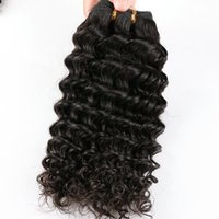 pelo indio virgen sin procesar 6a al por mayor-6A Indian Water Virgin Wave 4 UNIDS Cabello Cabello Remy Wave Onda Sin Procesar Producto de Cabello Crudo Indian Water Wave Virgin Hair