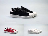 Wholesale Black Knotted Mesh - 2018 2017 new superstar Y3 Super Knot shoe for boy girl Men Women with White Red Black Green stan smith speedcross star shoes