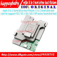 Wholesale Flash Memory Iphone - 5 in 1 HDD hard disk test stand Repair For iphone 5G 5S 5C 6G 6P SE NAND Flash Memory CHIP IC Motherboard fixture Tester