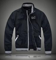 Wholesale Classic Casual Jacket Men - Fall-New 2015 Jacket Men Fashion Classic Men ralp Jacket Zip Pocket Coat Outwear Work Casual Men Windproof windbreaker sport Jacket