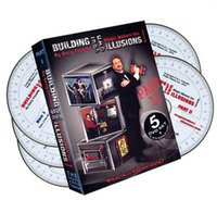 Big Kids stage set - Building Your Own Illusions Part DVD set by Gerry Frenette only magic teaching video Send via email stage magic