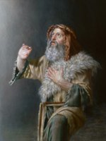 painting moses - Gift Oil Painting canvas Moses Seeing Jehovah by Joseph Brickey hand painted High qualilty