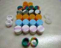 Wholesale Cheapest Folding Stock - 1000 pieces lot the cheapest round Non Stick Silicone Container Nonstick Jars 2 ml