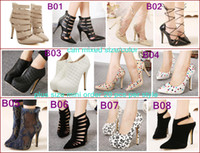 Wholesale Wholesale Sexy Boots - Lowest price winter boots ankle boots women shoes wedding shoes pumps sexy high heels plus size shoes