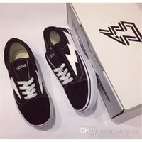 Wholesale Storm Fishing - New Revenge X Storm Old Skool Classic Black White Red Blue Green Light Men and Women Casual Shoes Sneakers Skateboard shoes Size US4-10