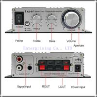 Wholesale Tripath Amplifiers - New Lepai Class T Hi-Fi Audio Amplifier Tripath LP-2020A+ Amp 20WX2 Stereo Amp digital car amplifier