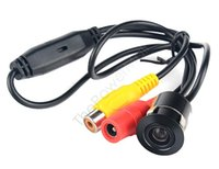 Wholesale 2pcs Mini Degree Night Vision Camera Universal Car Rear View Camera Parking Camera CMOS Waterproof Camera