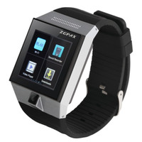 Wholesale Mtk6577 512mb - Wholesale-Wearable Phone Android 4.0 Smart Phone Watch with 1.54 inch Touch Screen Display Camera MTK6577 Dual Core CPU RAM 512MB ROM 4GB