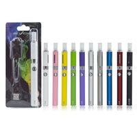 Wholesale Ecigs Ce4 Starter Kit - EVOD MT3 Blister Starter kits with 650 900 1100mAh evod battery and MT3 atomizers with coils CE4 blister Kits Vaporizer Box Mod Ecigs