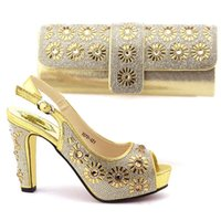 Wholesale Looking For Wedding - Good Looking Italian Shoes With Matching Bags African Shoes and Bag To Match Wedding Shoes and Bag Sets For Party!IOB1-1