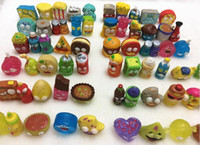 Wholesale Popular Children Toys - 50Pcs set Popular Cartoon Anime Action Figures Toys Soft Garbage The Grossery Gang Model Toy Dolls Children Christmas Gift