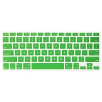 Silicone Anti-dust Ultra-thin Laptop Keyboard Protective Film Cover Sticker Skin US Layout para MacBook Pro 13.3