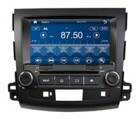 "Wholesale Hd Radio Rds - HD 2 din 8"" Car audio Car dvd gps navigation for Mitsubishi OUTLANDER 2006-2012 With Bluetooth IPOD TV Radio  RDS SWC USB AUX IN"