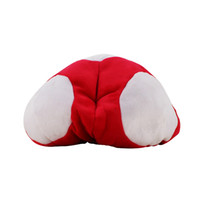 2 estilos Super Mario Bros Red Toad Plush Warm Hat Mario Plush Anime Cosplay Plush Cap al por mayor