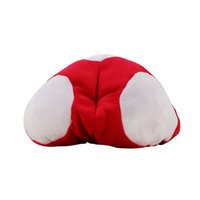 2styles Super Mario Bros Red Toad Plush Warm Hat Марио Плюшевые аниме Cosplay Plush Cap оптом