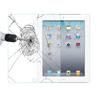 Wholesale ipad pro Tempered Glass Screen Protectors iPad mini air Samsung Tablet PC with Retail Box