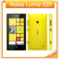 Originale 520 Nokia Lumia 520 Windows Mobile Phone 8 Dual core 8 GB ROM 5MP GPS Wifi 4.0