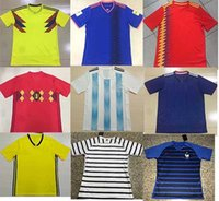 Wholesale Nations Red - 2018 World Cup Jersey all nation soccer jersey GERMAN SPAIN Sweden factory wholesale