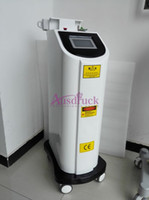 Wholesale Lens Laser 532nm - Eu tax free Q Switched Nd Yag Laser Tattoo Removal machine 1000W Vertical color pigment remover eyebrow removing 1320nm 1064nm 532nm lens