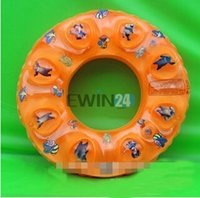 Wholesale Good Items - New Boy Girls Kids Inflatable Pool Swim Ring Seat Float Boat Swimming 7-15 Years Old Good Quality 100pcs