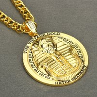 Wholesale Snake Necklace Hiphop - 2016 Europe and the United States trend of fashion foreign trade hip hop jewelry HIPHOP Necklace limited time