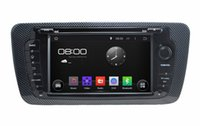 """Wholesale Dvd Usb Tv - 1024*600 Android 4.4 HD 2 din 7"""" Car DVD Player for Seat Ibiza 2009-2013 With GPS 3G WIFI Bluetooth IPOD TV Radio USB AUX IN"""