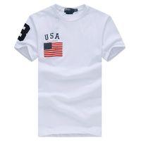 Wholesale Black Flag T Shirt - Hot 2017 High quality cotton new O-neck short sleeve t-shirt Fahion brand men T-shirts casual Flag for sport men polo T-shirt
