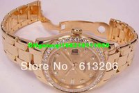 Wholesale military watch automatic for sale - Group buy 2013 wristwatches LUXURY Men s Mens kt Gold DIAMOND SANT BLANC automatic military watch gift box