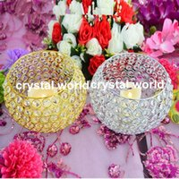 hohe kristallleuchter großhandel-Tall Crystal Kerzenhalter / Acryl Crystal Tisch Candlesticks Wedding1133 Herzstück