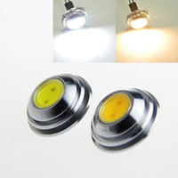 Wholesale Super Ufo Free Shipping - Super Brigth UFO umbrella design led lamp downlight G4 LED cob bulb 5w high power 12v dc white warm white free shipping
