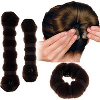 Best Large + piccolo / Set Fashion Magic Hair Styling Accessori creatore della clip del panino strumento ciambella 1-est