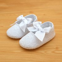 Wholesale Handmade Shoes For Baby Girls - Soft Sole Baby Shoes First Walkers For 0-12 Months Handmade High Quality