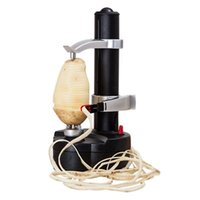 máquina de verduras al por mayor-Peleteros eléctricos de frutas y hortalizas Artículos de cocina doméstica Multifunción Peladora de patatas Máquina Venta caliente 58bf C R