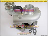 ford transit turbocharger venda por atacado-GT1549 452213-5003S 452213 Y4T6K682AA 954T6K682AA Turbo Turbocompressor Para Ford Transit camionete 1996-2000 Otosan YORK 2.5L TDI