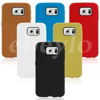 Wholesale S4 Mini Gel Case - Honeycomb point Soft TPU Anti Waterprint Gel Rubber Phone Cases Back Cover for Samsung S6 Edge S5 mini S4 A7 A5 Note5 4