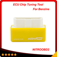 Wholesale Ford Saturn - Plug and Drive NitroOBD2 Performance Chip Tuning Box for Benzine Cars NitroOBD2 Chip Tuning Box Free Shipping