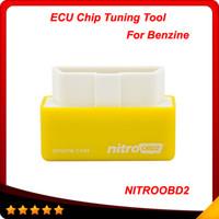 yonga kutuları toptan satış-Tak ve Sürücü NitroOBD2 Performans Chip Tuning Kutusu Benzin Arabalar için NitroOBD2 Chip Tuning Kutusu Ücretsiz Kargo