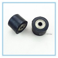 Wholesale Chain Roller Ship - Rubber Chain Roller 8mm bearing axle Free shipping Factory wholesale price
