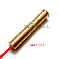 CAL: 0,410 / 36 Taktisches Red Laser Sight Cartridge Bore Sighter Schussprüfer Jagd 1pc